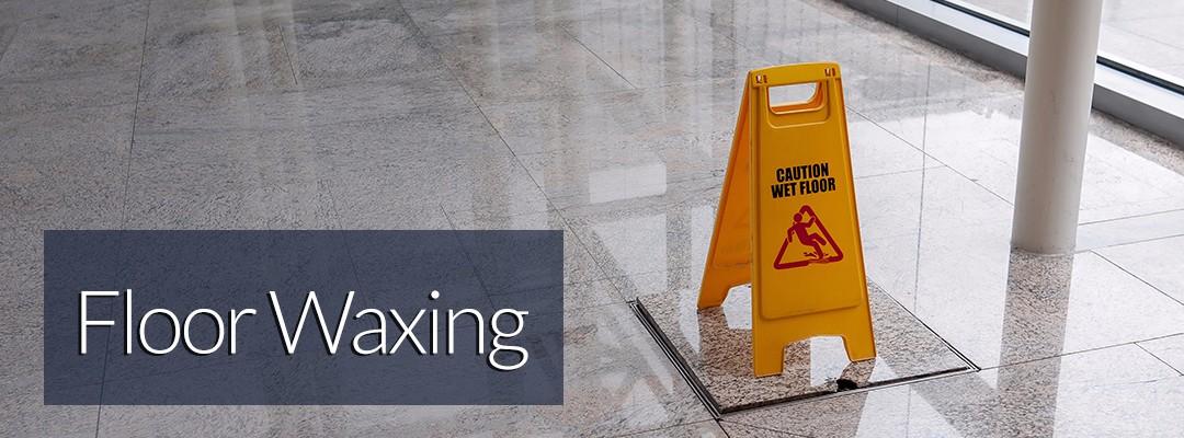 floor waxing for hallway in commercial building in bethlehem pa